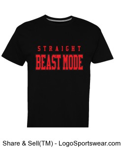 Men's Beast Mode Design Zoom